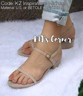 Carcar Made (MTO) Midheel Sandal
