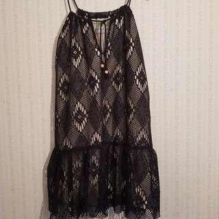 Magdalena Duma beach lace dress size 8