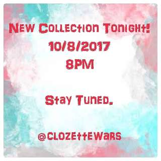 New Collection Tonight!