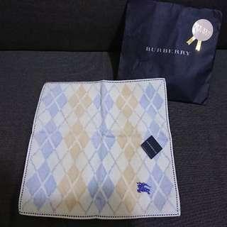 日版 Burberry 100% 全綿手巾 (100%新)