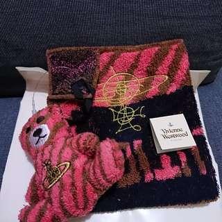 日版 Vivienne Westwood 西太后 全綿手巾 (100%新)
