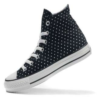 Converse All Star Chuck Taylors High Top Polka Dots