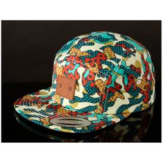 Cyrcle Camo 5-Panel Hat by DC