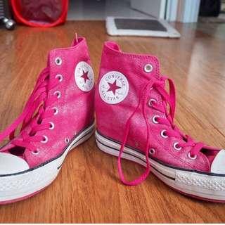 Pinky wedges Converse (ORI)