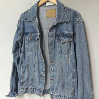 denim jacket by herspot