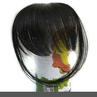 Clip In Hair Bangs/Fake Fringe/Wig