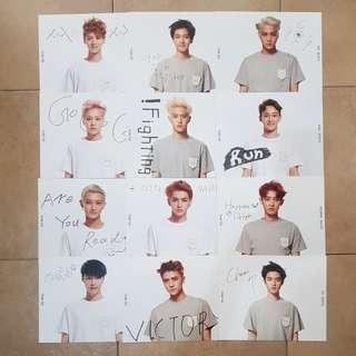 [Official] EXO OT12 Stardium Card