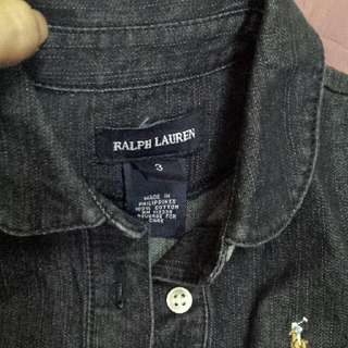 ralph lauren maong dress