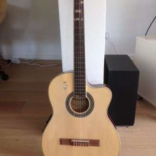 RJ Querida Acoustic Guitar with pickup