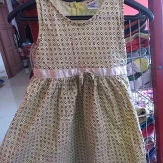 Anakku Gown for beautiful daughter 3-4y
