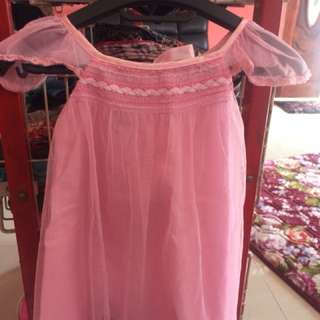 Gown princess : soft organza for 3-4y Daughter