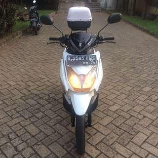 Suzuki Hayate Putih 2015