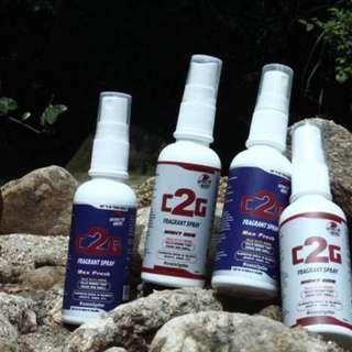 C2G fragrant spray