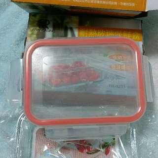 耐熱玻璃保鮮盒(一次買兩個200元)