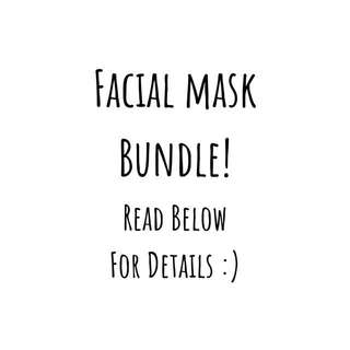 💕FACE MASK BUNDLE! 💕