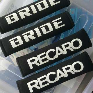 Bride Recaro Shoulder Pads . Last Few Sets.