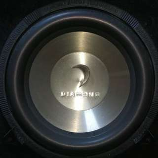 "Subwoofer 12"" with bo"