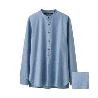 Uniqlo Lemaire Chambray Shirt