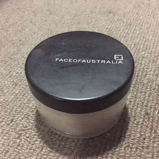 Face Of Australia Loose Translucent Powder