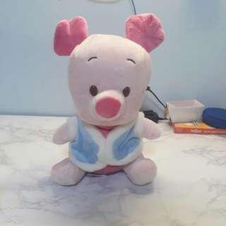 Piglet soft toy plushie
