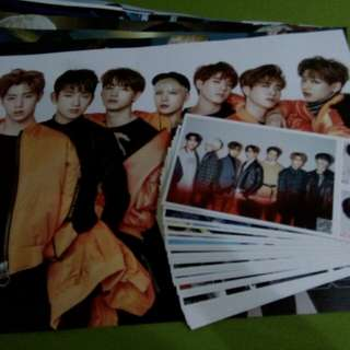 Got7 Postcard with Free Poster