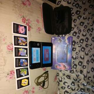 Nintendo 3DS XL Pokemon X and Y blue Edition