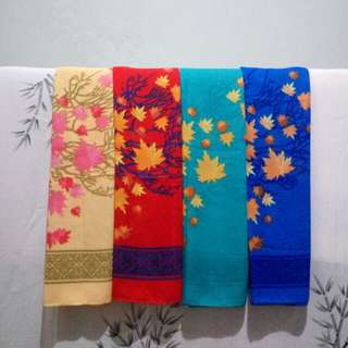 LIMITED STOCK Autumn Leaves Square Hijab