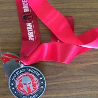 First Singapore Spartan Race Sprint Medal