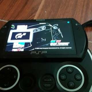 Psp go w/games, case, music