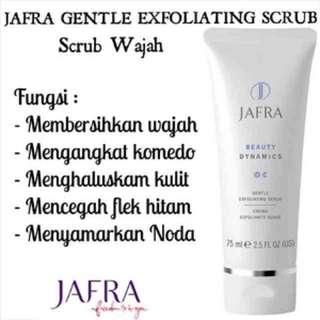jafra exfloiating scrub