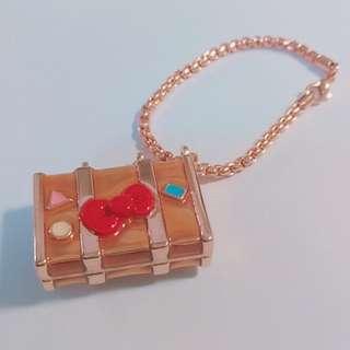 櫻桃小丸子 x Hello Kitty 聯名3D鑰匙圈