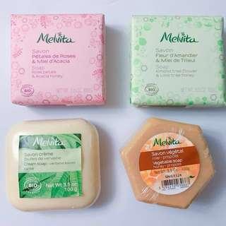 Melvita天然有機香梘Set 100g x4(兒童或濕疹敏感皮膚人士適用☺️)