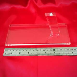 High Quality Thick Acrylic Pistol Display Stand