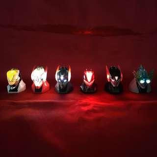 Rare Tiger & Bunny Capsule Toys By Bandai
