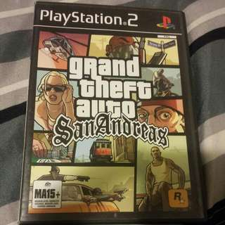 Grand Theft Auto San Andreas Playstation 2