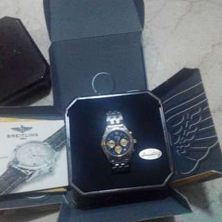 Authentic Breitling watch for men