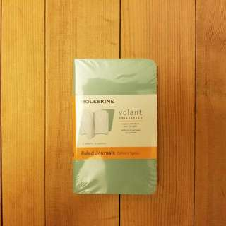 Moleskine - Volant Journal Ruled Extra Small Sage Green/Seaweed Green