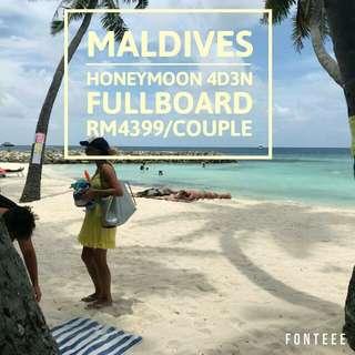 4H3M Maldives Couple