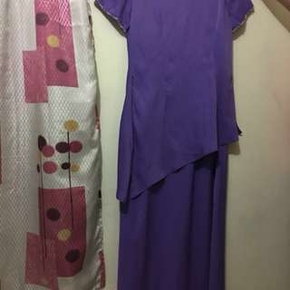 Styled Maxi Dress (L) Pre-loved