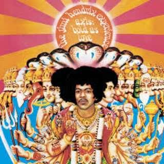 Jimi Hendrix vinyl (mono version)