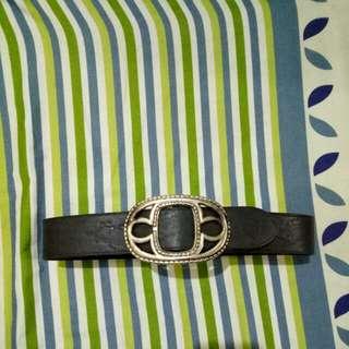 Levi strauss & co leather black belt