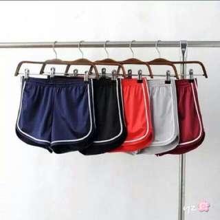 歐美緞面短褲
