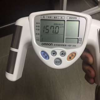 Omron 身體脂肪測量器 HBF-306