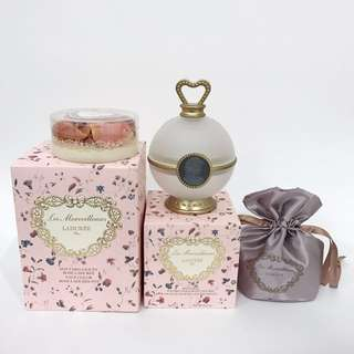 Laduree Blush Set (Pot+Refill+Brush) !!