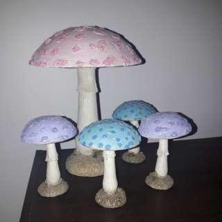 Cute Mushroom decor!
