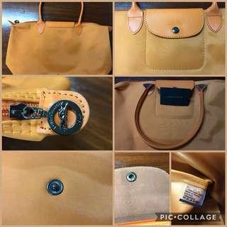 Longchamp  Le Pliage Medium Long Handle