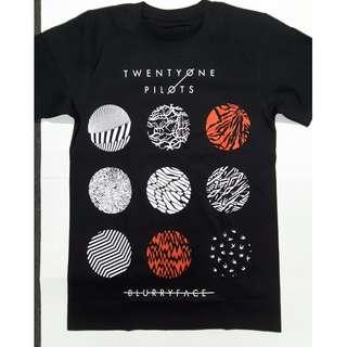 21 Pilots Twenty One Pilots - BlurryFace T-shirt Rock Band Merch Brand NEW Small/Medium Only