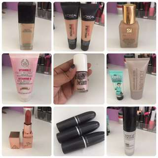Make up clearance!!!
