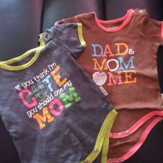 Holabebe Rompers : 3m-9m