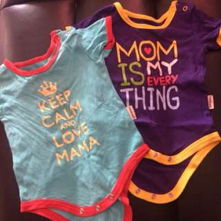 Holabebe Rompers: 3m-9m